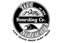 live sideways boarding company logo
